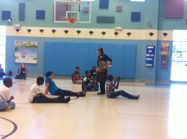 """Jody Cassell brings """"Dancing Math"""" to Spring ValleyElementary"""