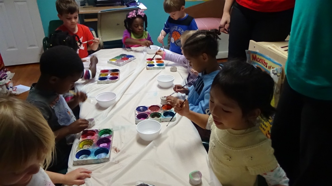 Stars, stories, and clay pots at Harvest LearningCenter